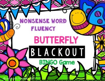 Spring  NWF RTI Resource (Butterfly Theme)