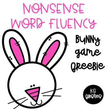 Nonsense Word Fluency Bunny Game