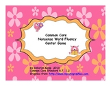 Nonsense Word Fluency Center Game-Common Core Aligned