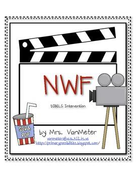 Nonsense Word Fluency- DIBELS Intervention- Hollywood Theme