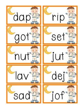 Nonsense Word Fluency- DIBELS Intervention- Space theme