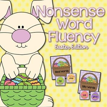 Nonsense Word Fluency Easter Edition