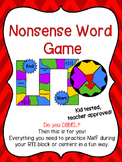 RTI - Nonsense Word Fluency Game