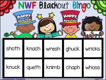 NWF Blackout Bingo Game (New Year's Theme)
