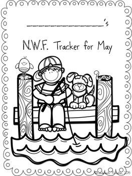 Summer Nonsense Word Fluency R.T.I.  Assessment Pack for May