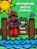 Summer Nonsense Word Fluency R.T.I.  Assessment Pack for May