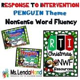 Nonsense Word Fluency PENGUIN Bundle Theme
