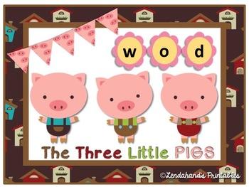Three Little Pigs Nonsense Word Fluency Power Point