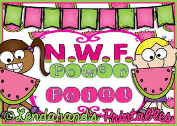 Nonsense Word Fluency Powerpoint (Watermelon Theme) by Ms.