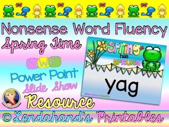 Spring Nonsense Word Fluency Powerpoint