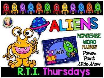 Alien Nonsense Word Fluency Powerpoint