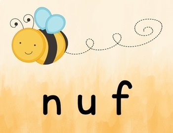 Nonsense Words | Fluency Game | Project and Play | Digital
