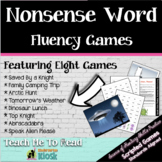 Nonsense Words Literacy Lessons and Games: Teach Me to Read