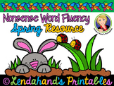 Spring Nonsense Word Fluency R.T.I. Pack (Bunny with Ladyb
