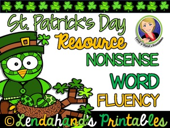 Nonsense Word Fluency R.T.I. Pack by Ms. Lendahand (St. Pa