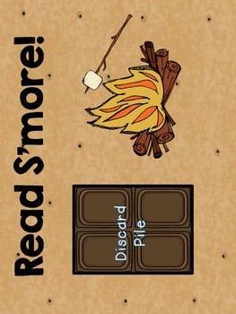 Nonsense Word Fluency - Read S'more! - Summer Camping Theme