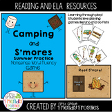 Summer Camping - Nonsense Word Fluency - Read S'more!