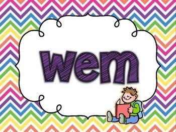 Nonsense Word Fluency Slideshow