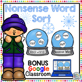 Nonsense Word Fluency with  BONUS Google Classroom