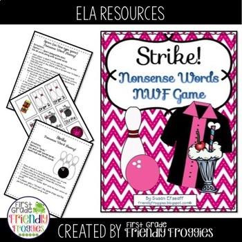 Nonsense Word Fluency - 50th Day Theme