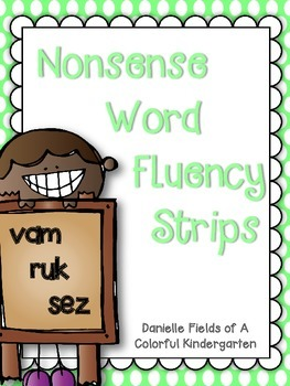 Nonsense Word Fluency Strips