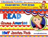 Read Across America Inspired Nonsense Word Fluency Resource