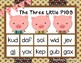 Nonsense Word Fluency  Teacher Pack for THE THREE LITTLE PIGS  by Ms. Lendahand