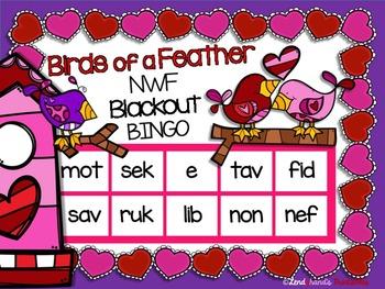 Valentine's Day Nonsense Word Fluency R.T.I. Resource Pack