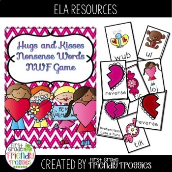 Nonsense Word Fluency - Valentine Themed