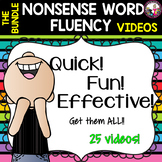 Nonsense Word Fluency Videos Bundle