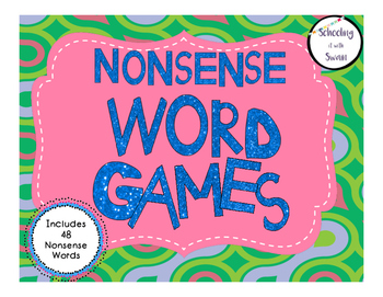 Nonsense Word Game