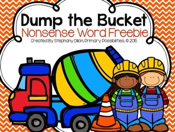 Nonsense Word Game- Bucket Dump