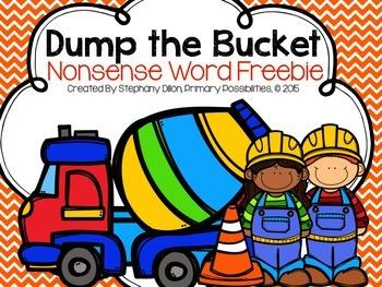 Nonsense Word Game- Bucket Dump
