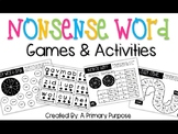 Nonsense Word Games & Activities