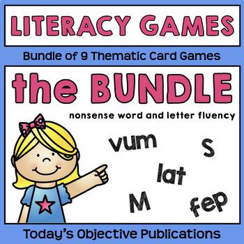 Nonsense Word Game Bundle