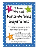 Nonsense Word Games