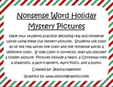 Nonsense Word Mystery Pictures - Holidays