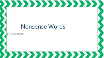Nonsense Word Practice