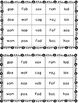Nonsense Word Practice Cards - short vowel cards {FREEBIE}