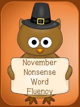 November Nonsense Word Practice