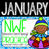 Nonsense Word Practice For January