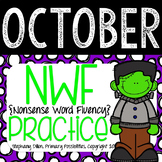 Nonsense Word Practice For October