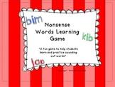 Nonsense Word Practice Game