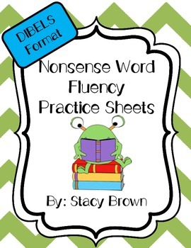 Nonsense Word Practice Sheets (DIBELS Format)