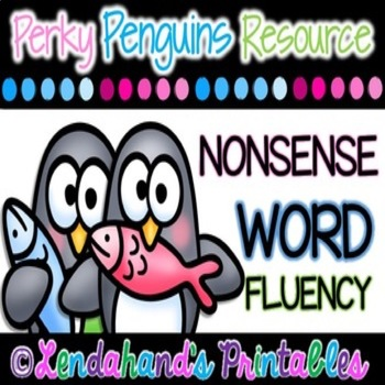 Winter Nonsense Word Fluency R.T.I. Pack (Penguin Theme)