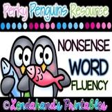 Winter Nonsense Word Fluency R.T.I. Pack (Penguin Theme)