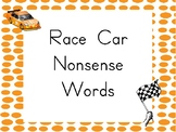 Nonsense Word Race Tracks