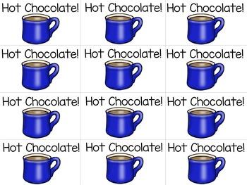 Nonsense Word Sort {Hot Chocolate Theme}
