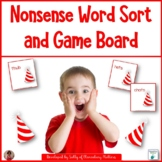 Nonsense Word Card Sort and Board Game