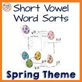 Short Vowel Word Family Sorts